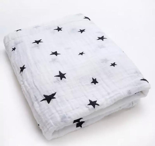 *SOLD* Muslin Swaddle: Designed by @evesiouni
