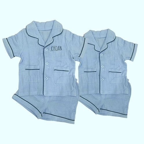 Matching Brother Pajama Sets: Designed by Gabby Zaroovabeli