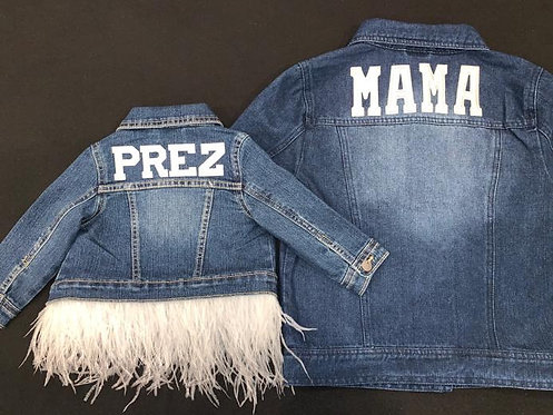 Mama Denim Jacket