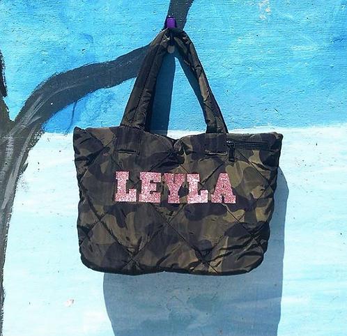Leyla Camo Set: Designed by Debbie Ebrani