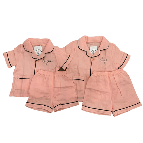 Button Down Pajamas: Designed by Melody Shirazi