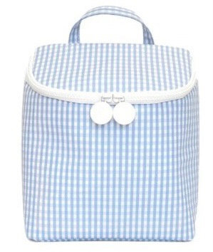 Gingham Cooler Tote: Designed by Nicole Roubeni