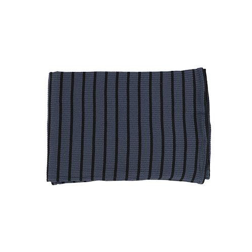 Striped Ribbed Blanket