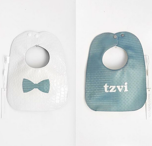 Vinyl Wipeable Bib: Designed by Jennifer Kordvani
