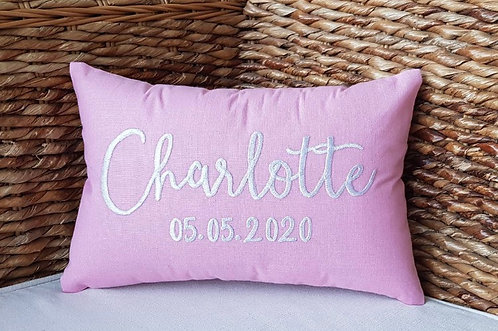 Personalized Pillow: Designed by Alexa Khojahiny