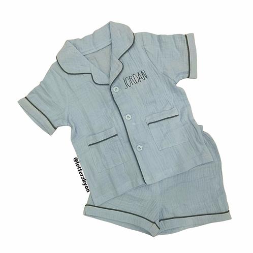 Button Down Pajamas: Designed by Anna Rahmanan
