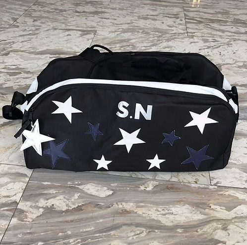 *SOLD*  Rella Star Duffle: designed by @brittkord