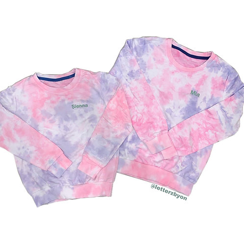 Tie Dye Sweatshirt | Toddlers and Kids