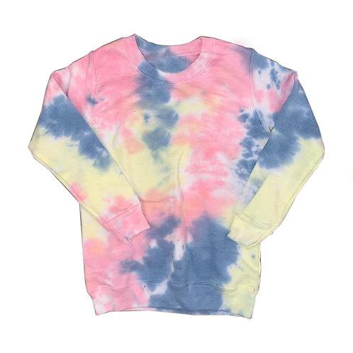 Youth X-Small Tie Dye Sweatshirt