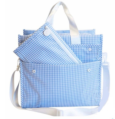 Gingham Diaper Bag Tote: Designed by Nicole Roubeni