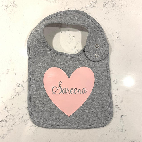 Cotton Bib: Designed by @claudiahopkins