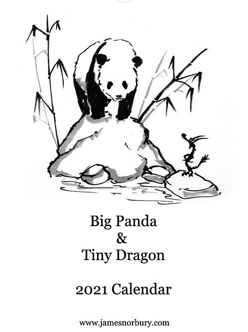 Big Panda & Tiny Dragon 2021 Calendar