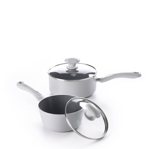 Air Fryer Ceramic Nonstick 4-Piece Saucepan Set