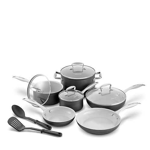 Classic Gourmet Pro Ceramic Nonstick 12-Piece Cookware Set