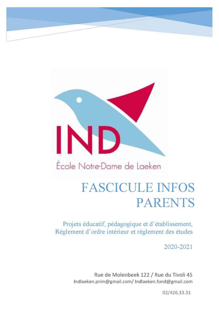 Fascicule parents
