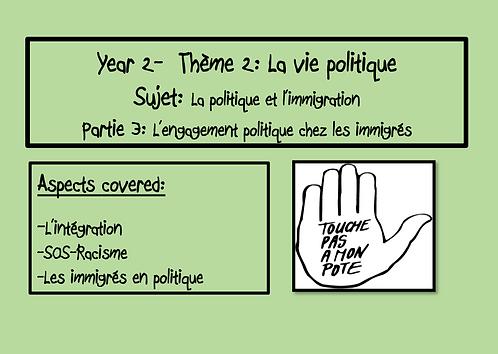 La politique et l'immigration- Part 3