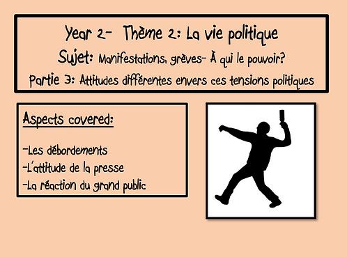 Manifestations, grèves-À qui le pouvoir?- Part 3