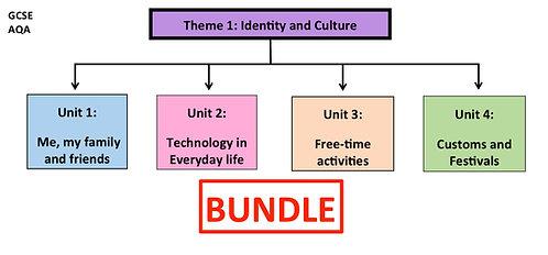 GCSE- Theme 1: Identity and Culture-BUNDLE