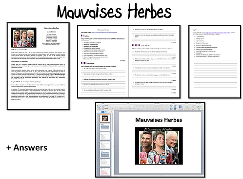 Mauvaises Herbes- Activities