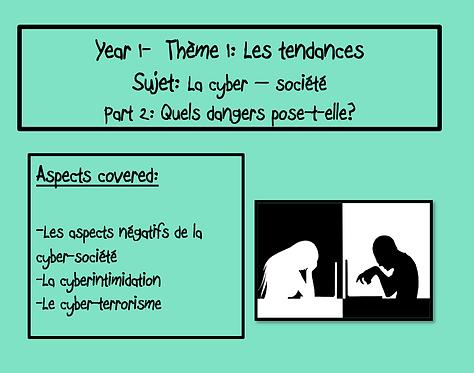 La cyber-société: Part 2