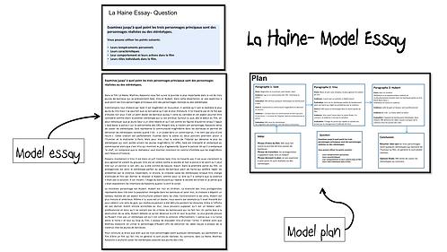 La Haine- Model Essay- Les Personnages: réalistes ou stéréotypes