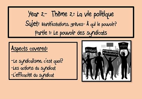 Manifestations, grèves-À qui le pouvoir?- Part 1