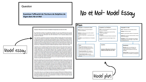 No et Moi- Model Essay- L'efficacité de l'écriture