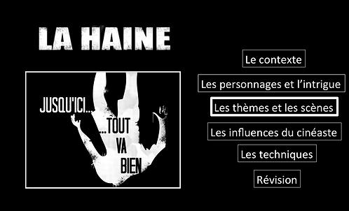 La Haine: Les thèmes et les scènes