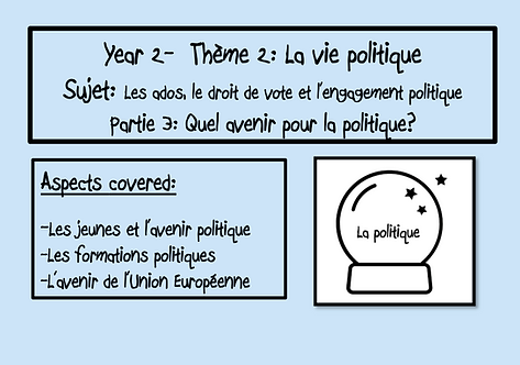 Ados, droit de vote et engagement politique- Part 3