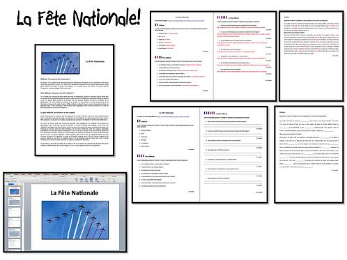 La Fête Nationale- Activities