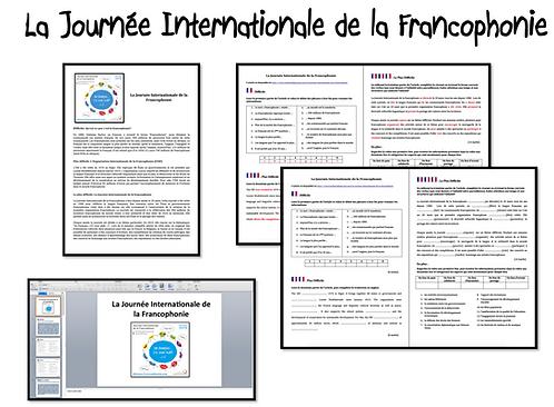 Journée Internationale Francophonie- Activities
