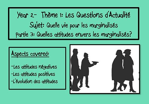 Quelle vie pour les marginalisés?- Part 3
