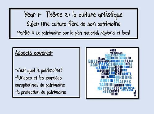Une culture fière de son héritage-Part 1