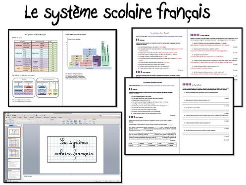 Le Système Scolaire- Activities