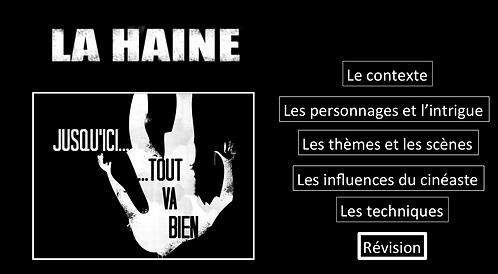 La Haine: Revision/ Summary Sheets
