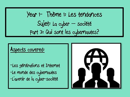 La cyber-société: Part 3