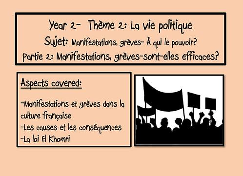 Manifestations, grèves-À qui le pouvoir?-Part 2