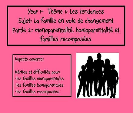 La famille en voie de changement- Part2