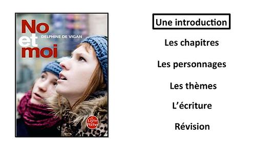 No et Moi: Une Introduction