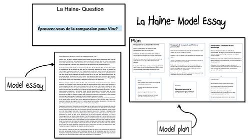 La Haine- Model Essay- Vinz