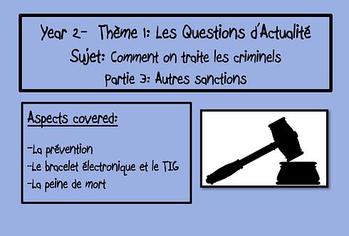 Comment on traite les criminels- Part 3