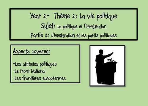 La politique et l'immigration-Part 2
