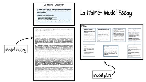 La Haine- Model Essay- Le titre