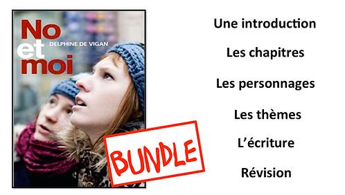 No et Moi- Book Study- BUNDLE