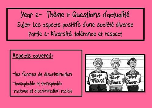 Les aspects positifs d'une société diverse- Part 2
