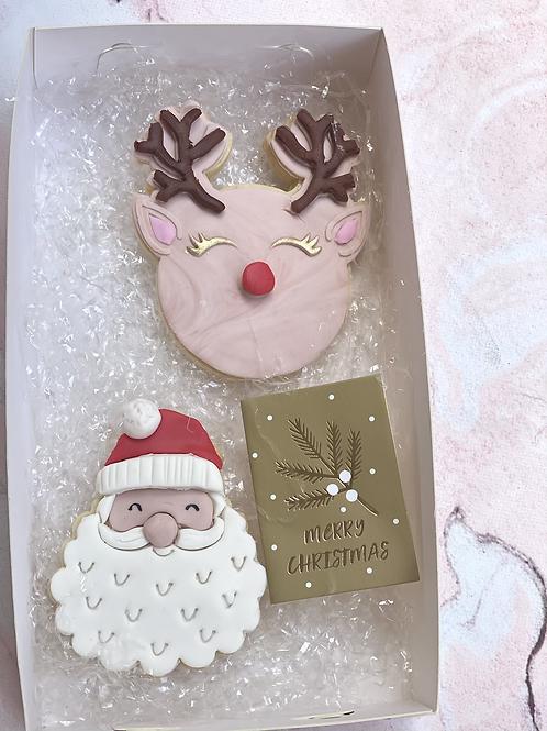 Santa Christmas Cookie set