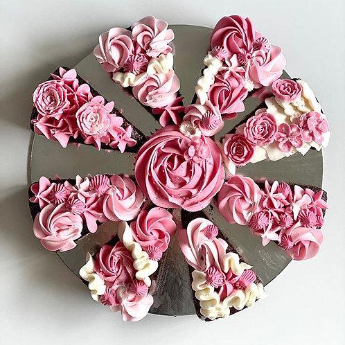 Portioned Cake Design