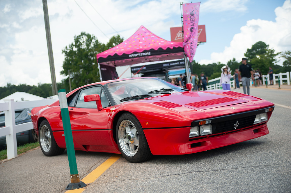 The 288 GTO was one of Ferrari's first turbocharged models.