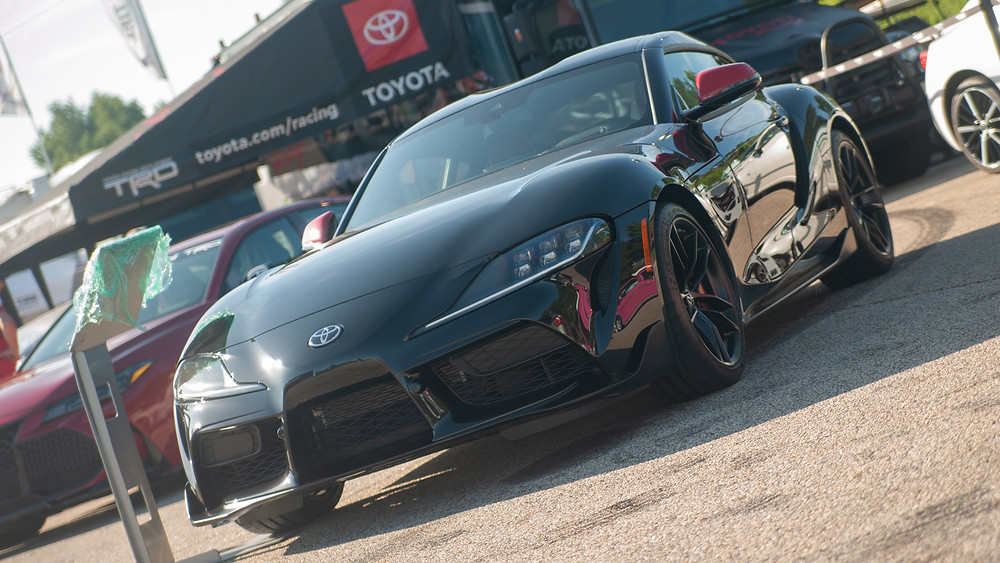 The returning Toyota Supra is powered by BMW's modern 3-liter straight six turbo.
