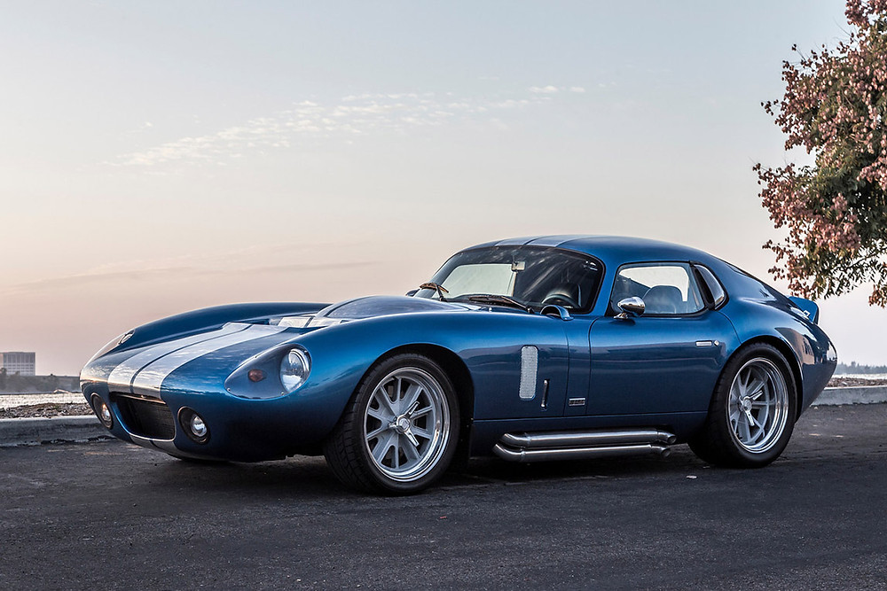The Daytona coupe was a radical departure from previous Cobras.    Image by Superformance
